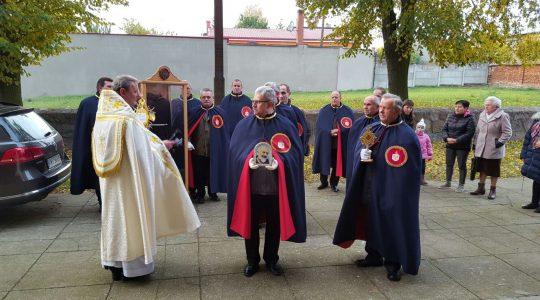 Finał polskiej części peregrynacji relikwii świętego ojca Pio - Pyzdry