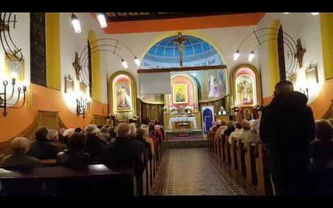 Uroczyste wprowadzenie relikwii świętego ojca Pio w Łodzi