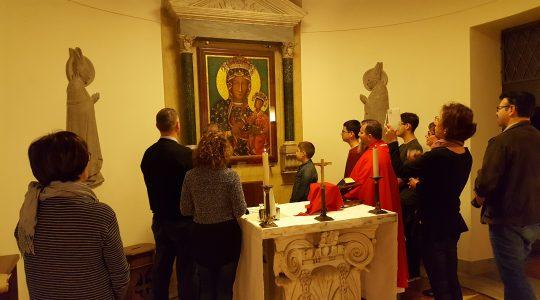 Modlitwy w Bazylice św. Piotra