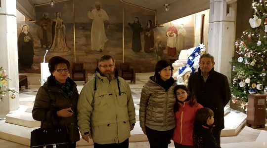Włochów zachwyciło Centrum św. Jana Pawła
