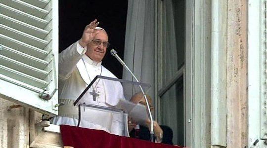 Bądźcie ubogimi w duchu - modlitwa Anioł Pański z papieżem (Vatican Service News - 29.01.2017)