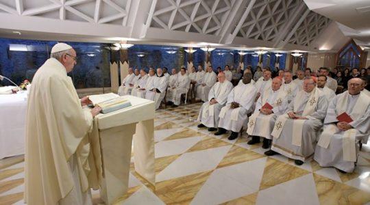 Nie zabijajmy się wzajemnie własną nienawiścią ( Vatican Service News - 13.02.2017)