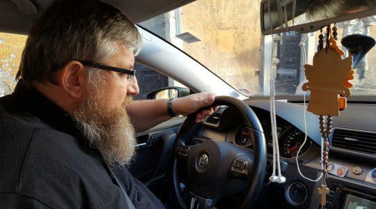 Ks. Jarek ewangelizując przejechał w ubiegłym roku 100 tys. kilometrów  (2.01.2017)