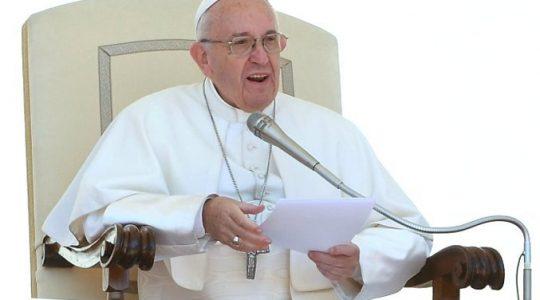 Papież w rozmowie z abpem Stanisławem Gądecki porusza trudny temat uchodźców (Vatican Service News - 20.05.2017)