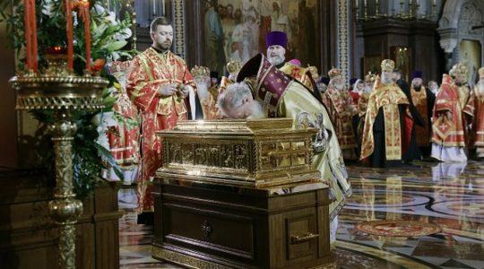 Relikwie świętego Mikołaja w Moskwie(Vatican Service News - 22.05.2017)