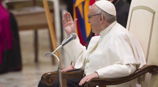 Kościół nie głosi ideologii przypomina papież (Vatican Service News - 05.06.2017)