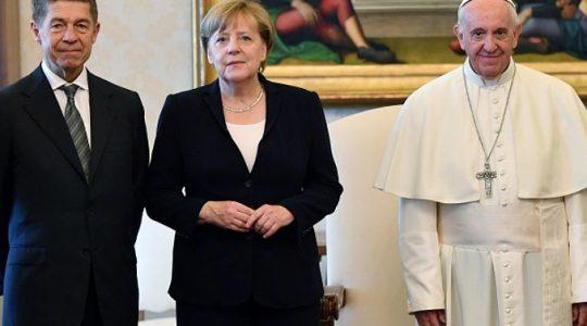 Spotkanie Ojca Świętego Franciszka z kanclerz Merkel (Vatican Service News -17.06.2017)