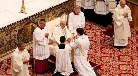 Papieskie wskazówki dla młodych kapłanów (Vatican Service News -02.06.2017)