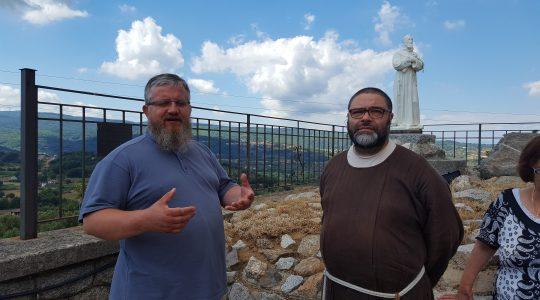 U franciszkanów w Chiaravalle  (06.07. 2017)