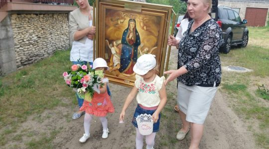 Pielgrzymka obrazu Matki Bożej Wniebowziętej (10.07.2017)