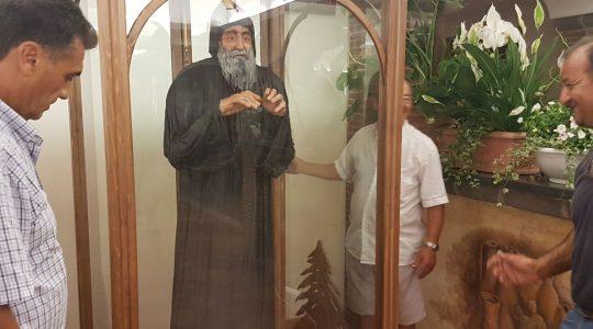 Figura Świętego Charbela w Gragnano 12.07.2017