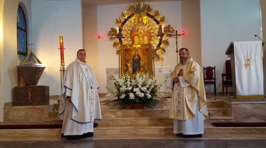 Wizerunek Matki Bożej z Niegowici – w Myszkowie (15. 08. 2017)