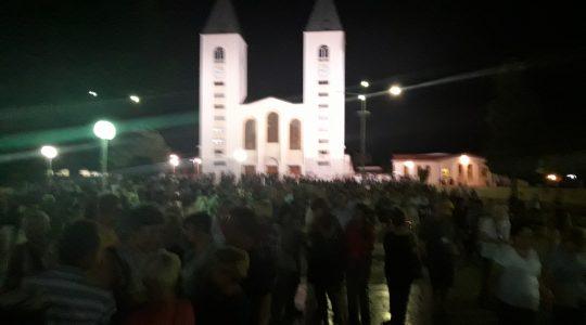 Upały w Medjugorie (Vatican Service News - 31.08.2017)
