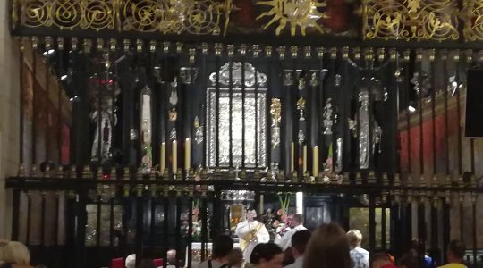 Relacja z ostatniego dnia pielgrzymki świdnickiej na Jasną Górę - finał u stóp Maryi (09.08.2017)