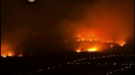 Pożar w pobliżu Medjugorie ( Vatican Service News - 25.08.2017)