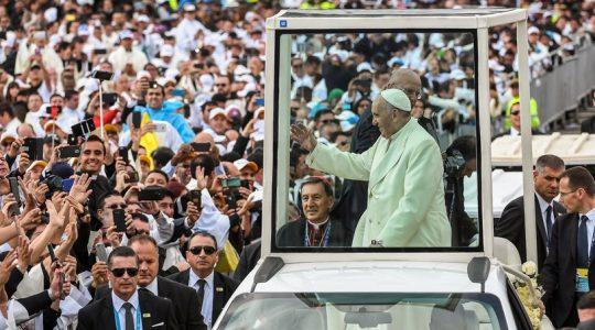 Kolejny dzień pielgrzymki papieża Franciszka w Kolumbii(Vatican Service News 08.09.2017)