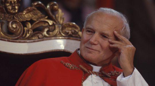 Giampiero i św.Jan Paweł II (14.09.2017)