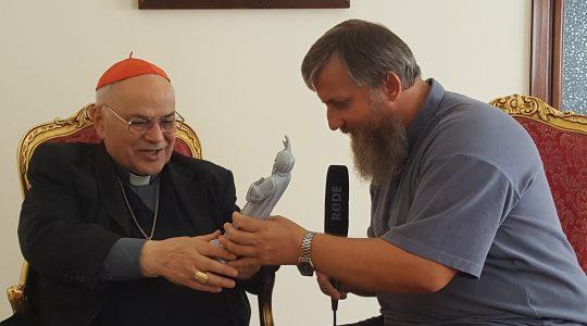 Błogosławieństwo od kard. Jose Saraiva Martinsa  (8.09.2017 Vatican Service News)
