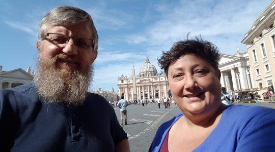 Rozmowa z Angelą Ambrogetti (12.09.2017 Vatican Service News)