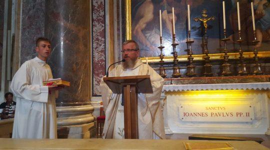 Święty Janie Pawle, potrzebujemy Ciebie teraz tak bardzo...  (21.09.2017)