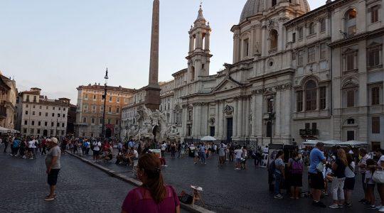 Pocztówka z Rzymu (2.09.2017)