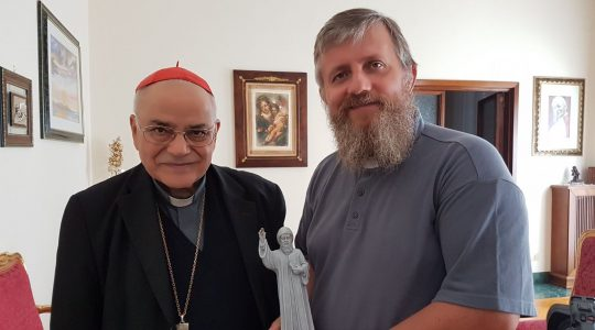 Rozmowa z kardynałem Martinsem  (2.03.2020)