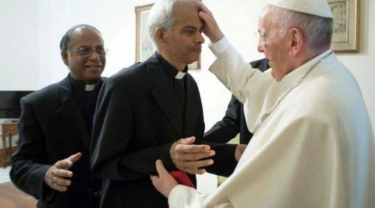 Wzruszające spotkanie z Ojcem Świętym  (14. 09. 2017)