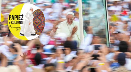 Ciekawostki statystyczne dotyczące pielgrzymki papieża Franciszka do Kolumbii(Vatican Service News - 13.09.2017)
