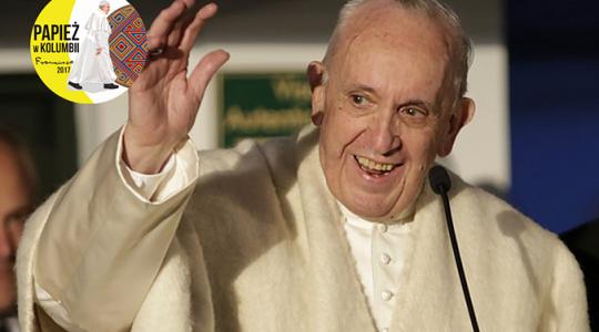 Papież rozpoczął pielgrzymkę do Kolumbii ( Vatican Service News - 07.09.2017)
