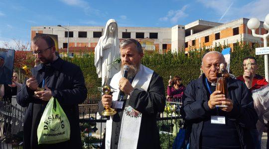 Procesja ze świętymi w Medjugorie (31.10.2017)