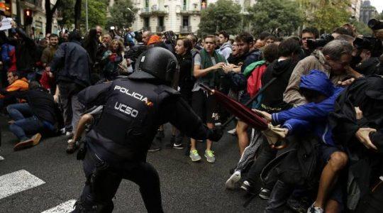 Biskupi apelują o pokojowe rozwiązanie kryzysu w Katalonii(Vatican Service News -02.10.2017)