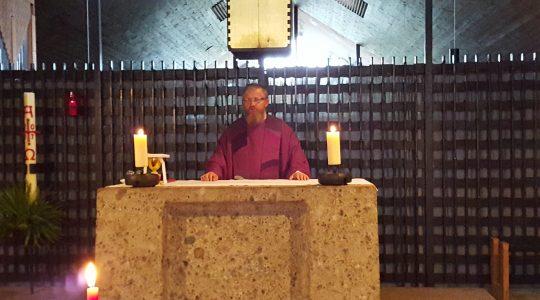 Ks. Jarosław modlił się w Dachau (9.11.2017)