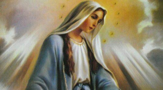 Nowenna przed uroczystością Niepokalanego Poczęcia Najświętszej Maryi Panny-Dzień III (1.12.2017)