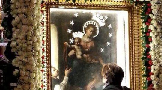 Uroczysty dzień w sanktuarium Matki Bożej w Pompejach (13.11.2017)