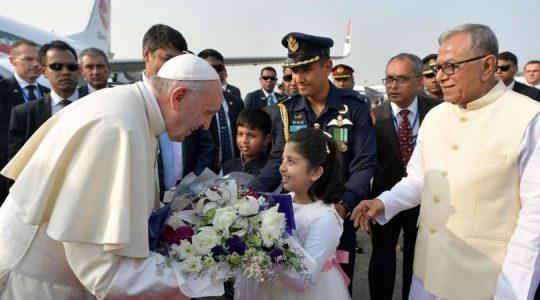 Papież Franciszek w Bangladeszu (Vatican Service News -1.12.2017)