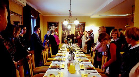 Obiad z rodziną św. Charbela- (6.12.2017)