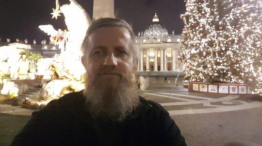 Padre Jarek a Roma 11.12.2017