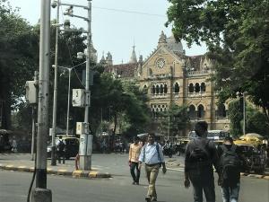 Dworzec kolejowy w Bombaju (07.12.2017)