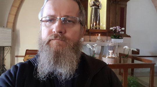 Ksiądz Jarek u świętego o. Pio w Pietrelcinie (03.02.2018)