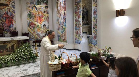 Święcenie pokarmów w New Delhi (31.03.2018)