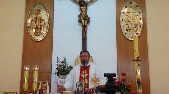 Uroczysta Msza święta na zakończenie Pielgrzymki Dziękczynno -Pokutno- Błagalnej 14.04.2018  godz. 15.00