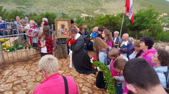 Hołd dla Maryi Królowej Polski w Medjugorie (wspomnienie )