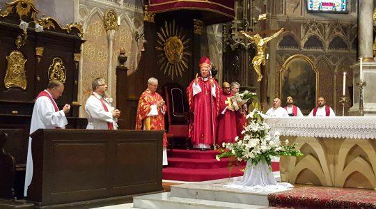 Obchody 40-lecia święceń kapłańskich ks. biskupa prof. Stanisłava Stolarika (12.06.2018)