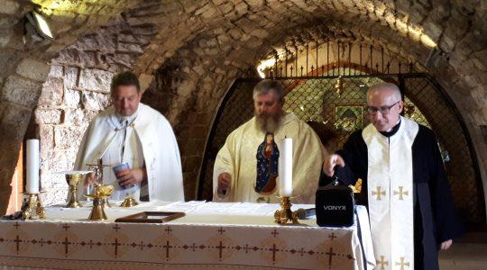 Msza Święta przy grobie Świętego Charbela (23.09.2018)