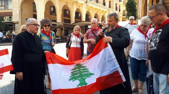 Na Placu Gwiaździstym w centrum Bejrutu (21.09.2018)