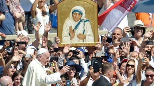 Wspomnienie kanonizacji Matki Teresy z Kalkuty (05.09.2018)