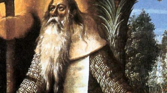 Święty Paweł z Teb, pustelnik (15.01.2019)