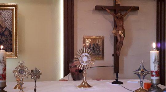 Pan Jezus wciąż żywy obecny w Eucharystii  (30.01.2018)
