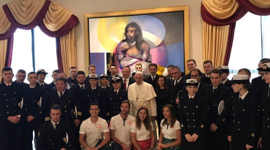 Spotkanie papieża Franciszka z Polakami w Panamie (Vatican Service News - 26.01.2019)