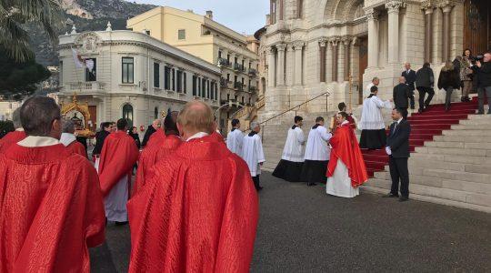 W Monako – ku czci św. Dewoty  (28.01.2019)